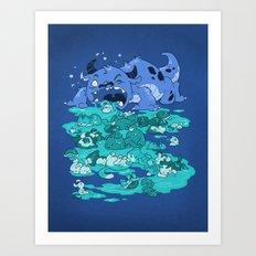Cuteness Overload Art Print