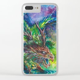 Guardian Dragon Clear iPhone Case