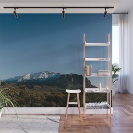 The Snow Covered Superstitions Wall Mural