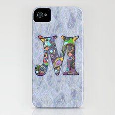 The Letter M iPhone (4, 4s) Slim Case
