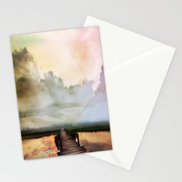 Bridge to the Horizon Stationery Cards