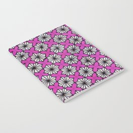 Ninja Star Pattern Notebook