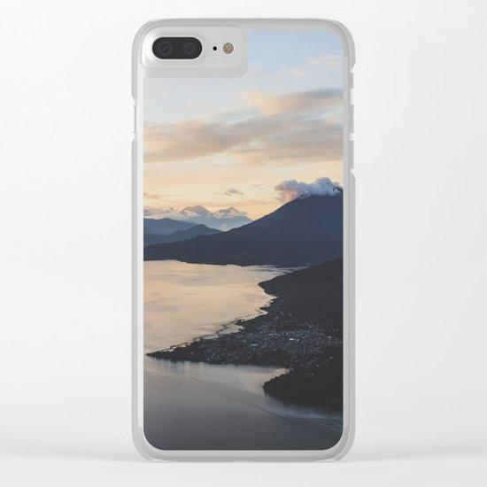 Lake Atitlán, Guatemala Clear iPhone Case