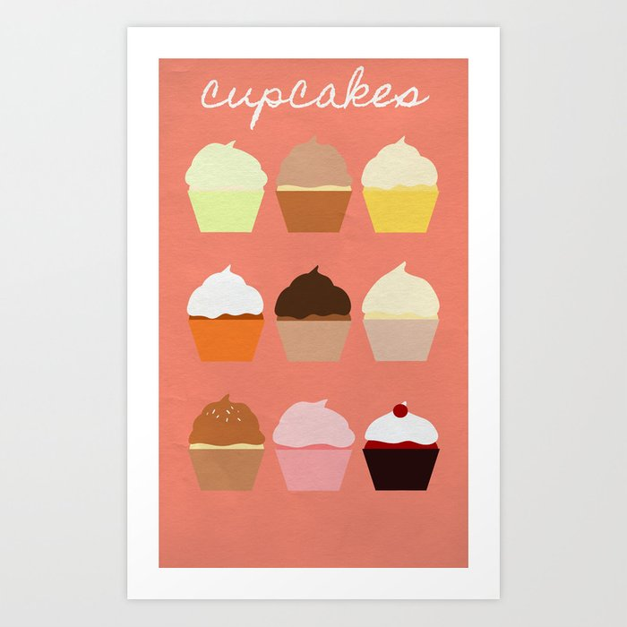 Baker's Joy Collection: Cupcakes Art Print
