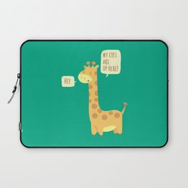 Giraffe problems! Laptop Sleeve
