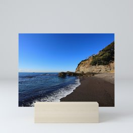 Black Sands Beach Mini Art Print