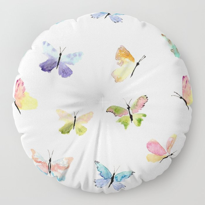 Beautiful Butterflies Floor Pillow
