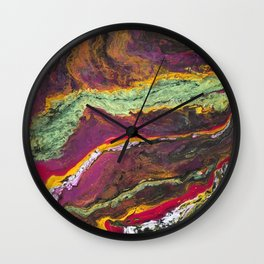 Mystery Planet I Wall Clock