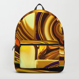 Retro in Gold Backpack