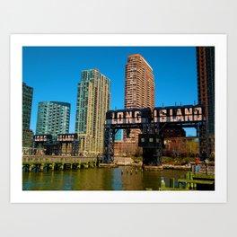 Long Island Bound Art Print