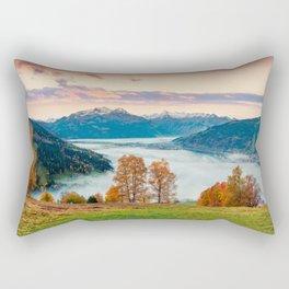 Beautiful Nature Concept Background Rectangular Pillow
