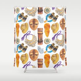 Wild Africa #3 Shower Curtain