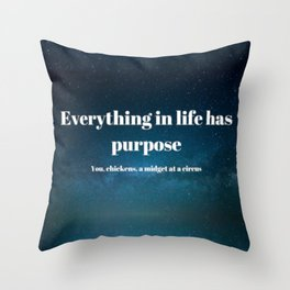 A Lil Dicky Philosophy Throw Pillow