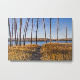 Downstream Campground, North Dakota 18 Metal Print