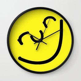Run Smiley Wall Clock