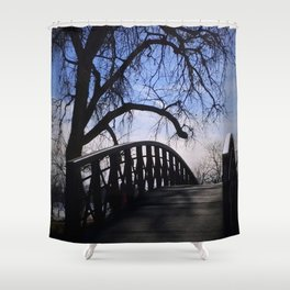 Bridge To Elsewhere Shower Curtain