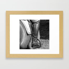 Horse Jumping 3 Framed Art Print
