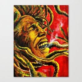 Marley Rasta Canvas Print