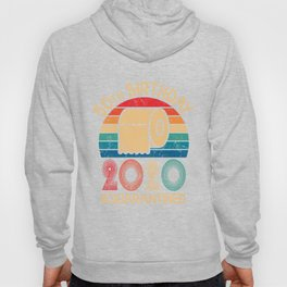 50th Birthday Quarantined 2020 , Toilet Paper Hoody