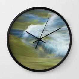 Burney Creek Flow Wall Clock