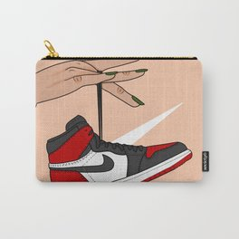 Bred Toe 1s Carry-All Pouch