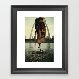 Traveler's Past Framed Art Print