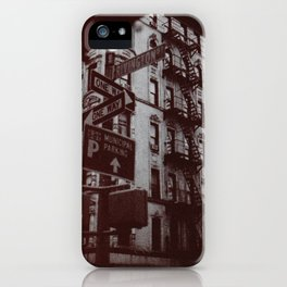 NYC - Lower East Side iPhone Case