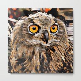 ArtAnimal Owl Metal Print