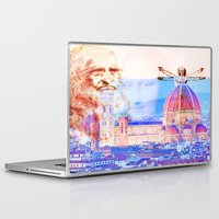 leonardo Laptop & iPad Skins featuring Code Leonardo  by Ganech joe