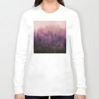 contemporary Long Sleeve T-shirts featuring The Heart Of My Heart by Tordis Kayma