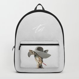 SAFIRA ZHIRAFETTA Backpack