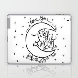 Moon Love Laptop & iPad Skin