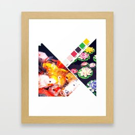 Today's color chart day 19 Framed Art Print