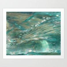 Glass Wave Art Print
