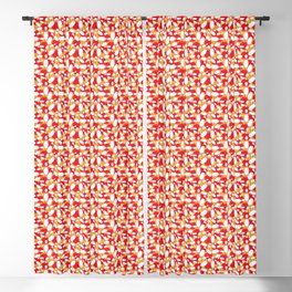 Bowling Alley Balls and Pins Pattern Blackout Curtain