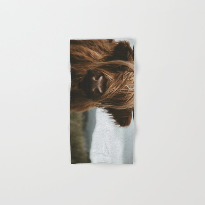 Scottish Highland Cattle Hand & Bath Towel
