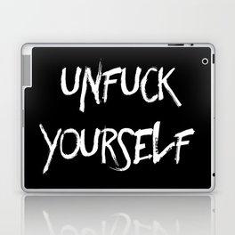 Unfuck yourself (inverse edition) Laptop & iPad Skin