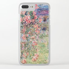 The House Among the Roses Clear iPhone Case
