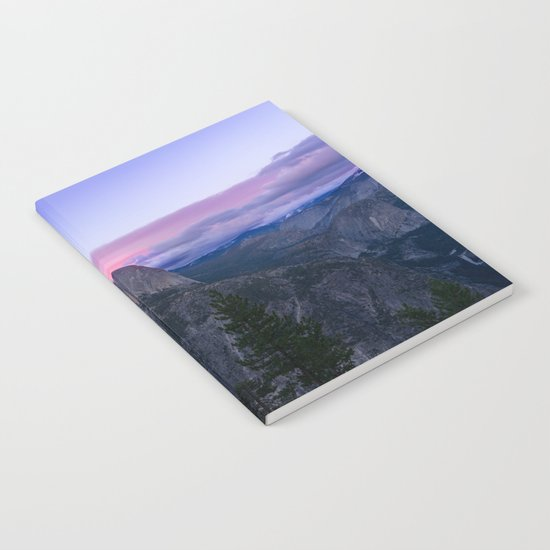 Yosemite National Park at Sunset Notebook