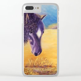 We graze | On broute Clear iPhone Case