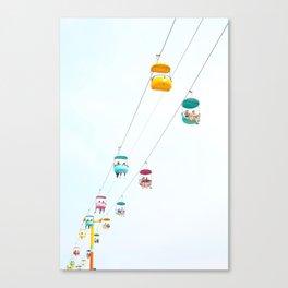 Santa Cruz Gondolas Canvas Print