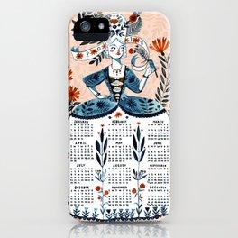 2018 Calendar iPhone Case