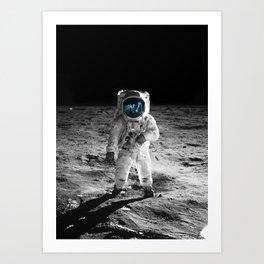 Buzz Aldrin Art Print