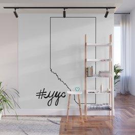 #yyc Wall Mural