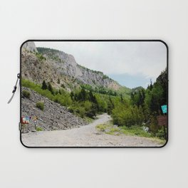 The Turnoff to the Perilous Engineer Pass Road, No. 2 of 5 Laptop Sleeve