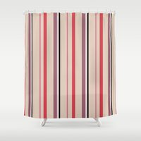 stripe Shower Curtains featuring Stripe by Tayler Willcox