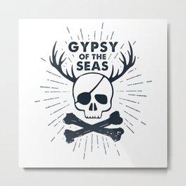 Gypsy Of The Seas Metal Print