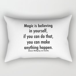 Magic is Believing in Yourself Rectangular Pillow
