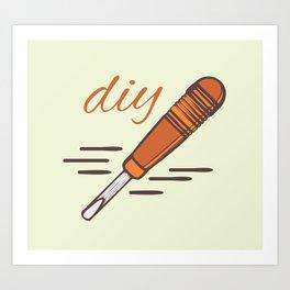 DIY ART Art Print