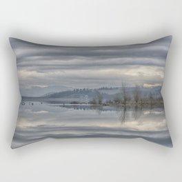 FLIGHT ON THE LAKE Rectangular Pillow